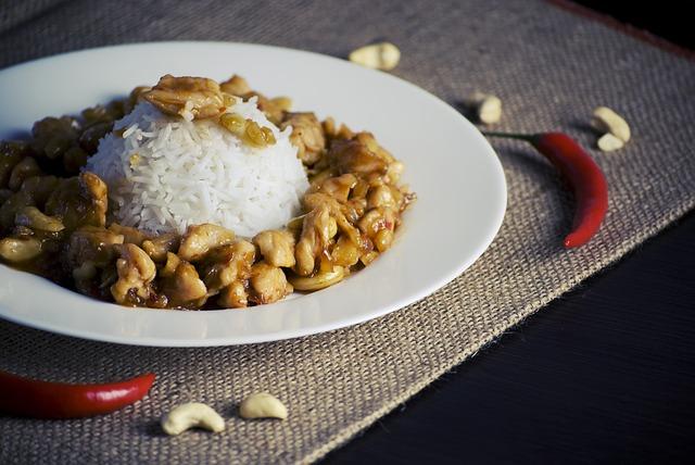 kuře s rýží