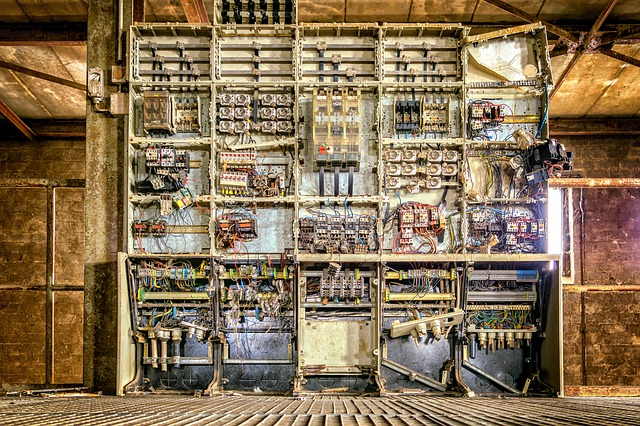 elektrická skříň