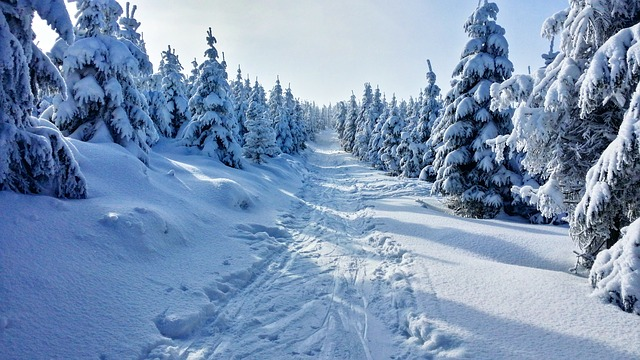 cesta pro lyžaře