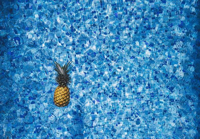 plovoucí ananas